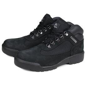 Timberland FIELD BOOT F/L WATERPROOF ティンバーランド フィールド ブーツ メンズ Mワイズ 防水 ブラック 黒 A1A12 [2/14 追加入荷]