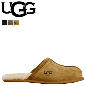 2 color UGG UGG men's Scuff Slippers MENS SCUFF Sheepskin 2014 SPRING new 5776 [genuine]