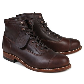 4b5d24c857f WOLVERINE Wolverene 1,000 miles boots ROCKFORD 1000 MILE CAP-TOE BOOT D  Wise W05293 brown work boots men [172]