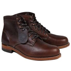 WOLVERINE ウルヴァリン 1000マイル ブーツ 1000 MILE BOOT Dワイズ W05301 ブラウン ワークブーツ メンズ [10/31 追加入荷]