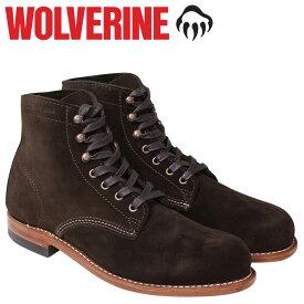 WOLVERINE 1000 MILE BOOT 1000マイル ブーツ ウルヴァリン 1000MILE ワークブーツ メンズ Dワイズ W40093 ダークブラウン
