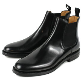 Churchs MONMOUTH WG チャーチ モンマス ブーツ サイドゴア ショートブーツ レディース ブラック 黒 DT0002 [9/24 追加入荷]