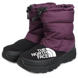 THE NORTH FACE NUPTSE DOWN BOOTIE ノースフェイス ヌプシ ダウン ブーティー ブーツ ウィンターブーツ メンズ レディース パープル NF51877 [11/25 新入荷]