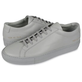 Common Projects ACHILLES LOW コモンプロジェクト アキレス ロー スニーカー メンズ グレー 1528-7543
