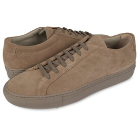 Common Projects ACHILLES LOW SUEDE コモンプロジェクト アキレス ロー スエード スニーカー メンズ ブラウン 2252-0240