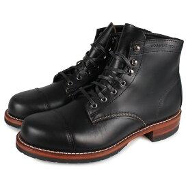 WOLVERINE 1000 MILE CAP-TOE BOOT ウルヴァリン 1000マイル ブーツ メンズ ブラック 黒 W990076 [10月 新入荷]