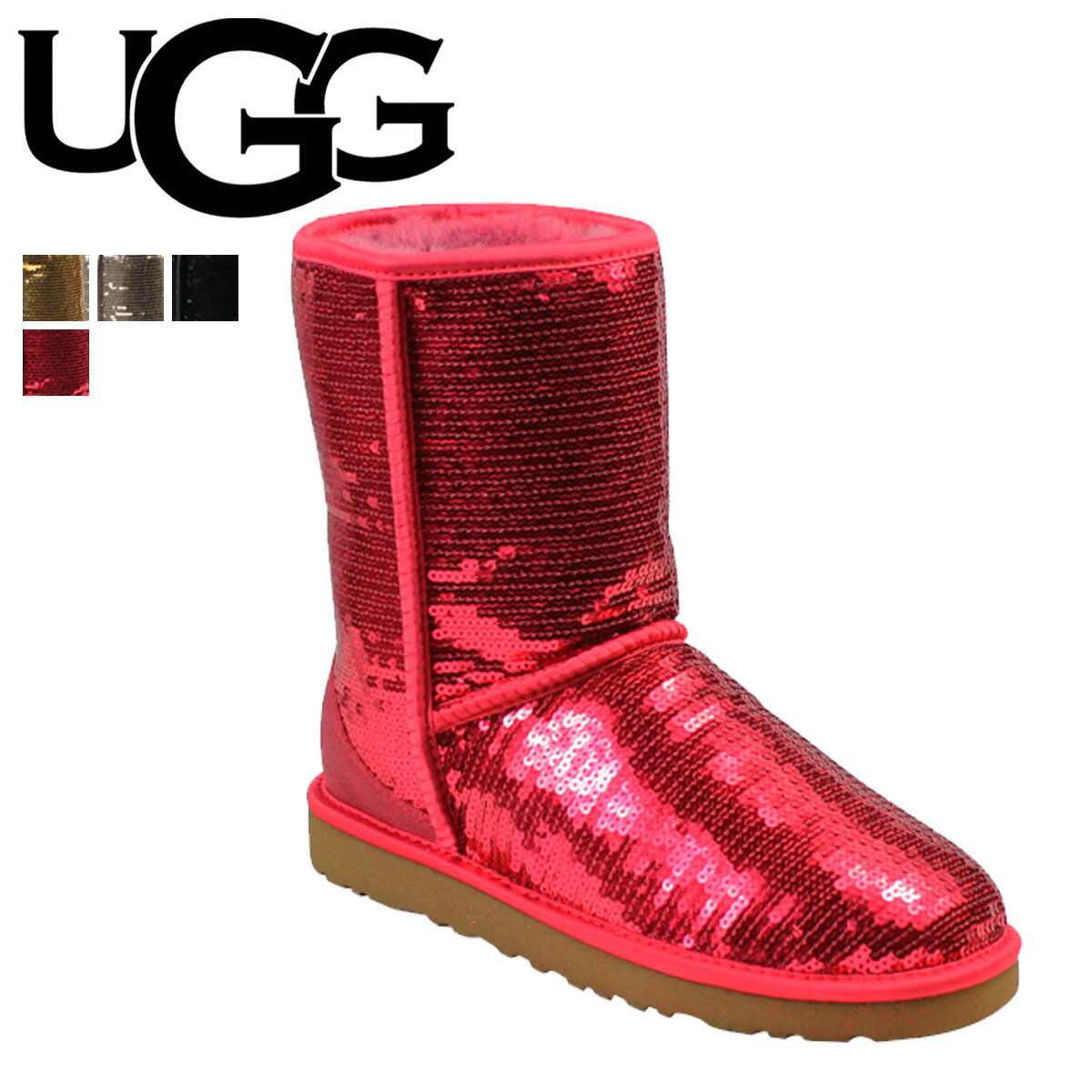 allsports ugg ugg women s classic short sparkles in 5 color womens rh global rakuten com