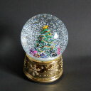 グリーンツリースノードームオルゴール ウォータードーム クリスマス Xmas オルゴール オシャレ ゴージャス プレゼン…