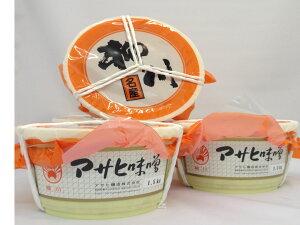 【アサヒ味噌】田舎米味噌1.5k 1樽