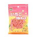 浪花屋 いちご柿チョコ (65g) [ 新潟 お土産 ][ 米菓 柿の種 チョコレート ]