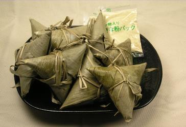 生笹使用 きな粉付ちまき 10個入×3パック 【新潟 お土産 菓子】