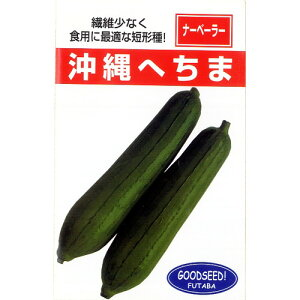沖縄短形へちま(へちまの種)10ml
