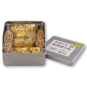田舎あられアソート 3升缶 (おかき・田舎・紫蘇・黒糖)