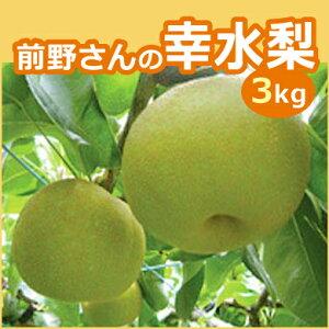 前野さんの幸水梨  3kg