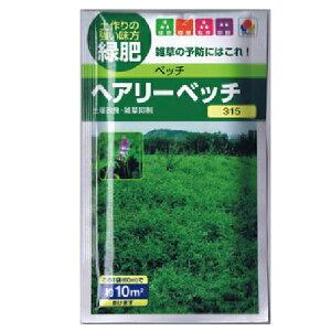 緑肥・牧草 種 【 ヘアリーベッチ 】 種子 小袋(60ml) ( 種 野菜 野菜種子 野菜種 )