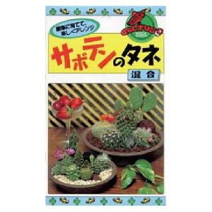 緑肥・牧草 種 【 サボテンのタネ 混合 】 種子 小袋(約30粒) ( 種 野菜 野菜種子 野菜種 )