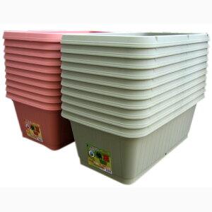 プランター鉢深型【野菜が作れる深底プランター710型10個セット】家庭菜園ガーデニングにおすすめ♪