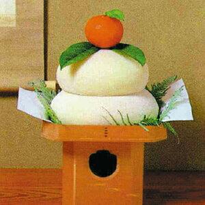 鏡餅 1.5升どり(直径約18cm)