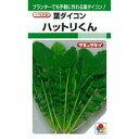葉大根 種 【 ハットリくん 】 種子 1L缶 ( 種 野菜 野菜種子 野菜種 )