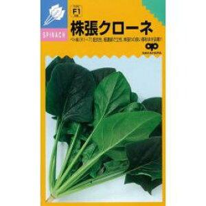 ホウレンソウ 種 【 株張クローネ 】 種子 小袋(約25ml) ( 種 野菜 野菜種子 野菜種 )