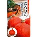 かぼちゃ 種 【ころりん(赤皮)】 9粒 ( 種 野菜 野菜種子 野菜種 )