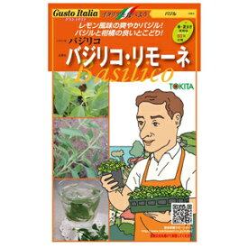 バジル 種【 バジリコ・リモーネ 】小袋( 野菜種 西洋野菜 グストイタリア )