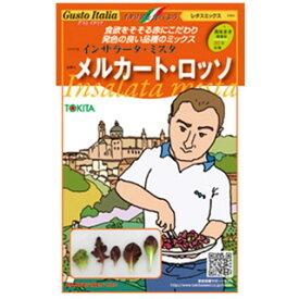 レタスミックス 種【 メルカート・ロッソ 】小袋( 野菜種 西洋野菜 グストイタリア )