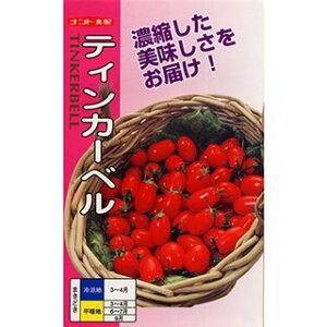 ミニトマト 種 【 ティンカーベル 】 小袋(20粒) ( ミニトマトの種 )