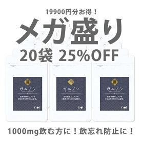 【25%OFF】noi ガニアシ サプリ 20袋セット