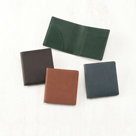 キプリス CYPRIS コンパクト札入 二つ折り財布 メンズ 小銭入れなし 薄い レーニアカーフ 1197 本革 日本製 ブランド