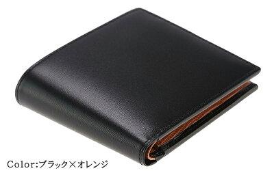 【CYPRISCOLLECTION】二つ折り財布(小銭入れ付き札入)■ボックスカーフ&リザード