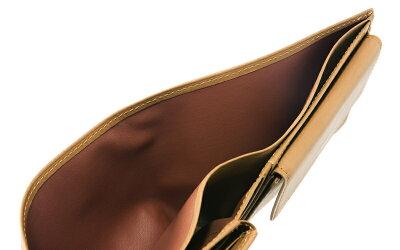 【ラッピング無料!】【CYPRIS/キプリス】二つ折り財布(ベロ・小銭入れ付き札入)■レーニアカーフ【送料無料】リボンを選べるラッピング【代引き手数料無料】【メンズ財布】【日本製】