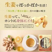 【国産】発酵しょうが麹入り本しぼりしょうが湯