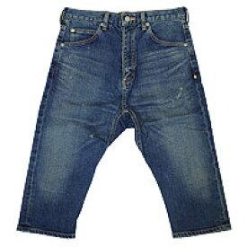 【エフィレボル/.efilevol】Front Sarrouel Narrow Q/S Denim Pants / フロントサルエルナロークロップドデニムパンツ【送料無料】