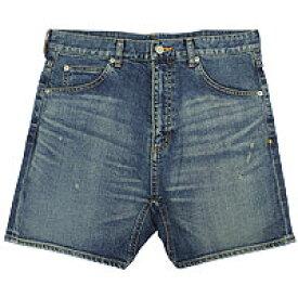 【エフィレボル/.efilevol】Front Sarrouel Narrow Short Denim Pants / フロントサルエルナローショートデニムパンツ【送料無料】