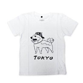 【エフィレボル/.efiLevol 】TOKYO Dog Illust Kids Tee トーキョードッグイラストキッズTシャツ【あす楽対応】
