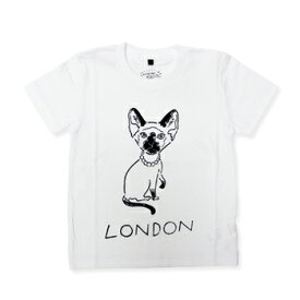 【エフィレボル/.efiLevol 】London Cat Illust Kids Tee ロンドンキャットイラストキッズTシャツ【あす楽対応】