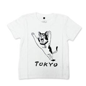 【エフィレボル/.efiLevol 】TOKYO Cat Illust Kids Tee トーキョーキャットイラストキッズTシャツ【あす楽対応】
