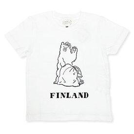 【エフィレボル/.efiLevol 】FINLAND BEAR Illust Kids Tee フィンランドベアイラストキッズTシャツ【あす楽対応】