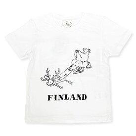 【エフィレボル/.efiLevol 】FINLAND PAIR Illust Kids Tee フィンランドペアイラストキッズTシャツ【あす楽対応】