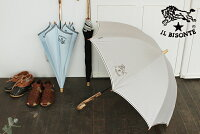 【イルビゾンテ/ILBISONTE生活雑貨】イルビゾンテ晴雨兼用長傘モノグラム\19950【送料無料】
