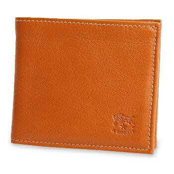 【イルビゾンテ IL BISONTE 財布】レザー2つ折り財布 [商品番号_411853]【送料無料】【あす楽対応】【財布 二つ折り財布】