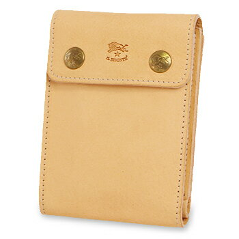 【イルビゾンテ IL BISONTE 財布】二つ折りダブルスナップ2つ折り財布[商品番号_5442409740]【送料無料】【あす楽対応】【財布 二つ折り財布】