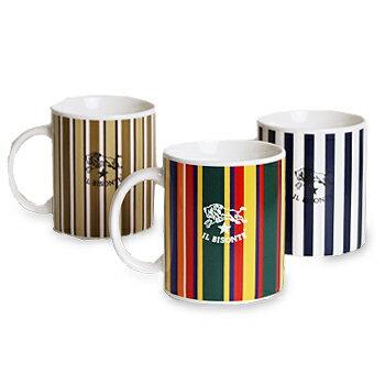 【イルビゾンテ IL BISONTE カップ&ボトル】ストライプマグカップ[商品番号_5432404198]【あす楽対応】