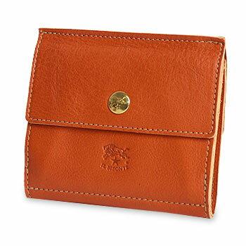 【イルビゾンテ IL BISONTE 財布】スナップ2つ折り財布 [商品番号_5442409240]【送料無料】【あす楽対応】【財布 二つ折り財布】