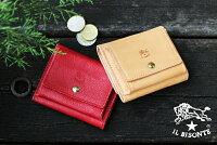 【イルビゾンテILBISONTE財布】三つ折りコンパクト財布[商品番号_5452404640]【送料無料】【財布その他】