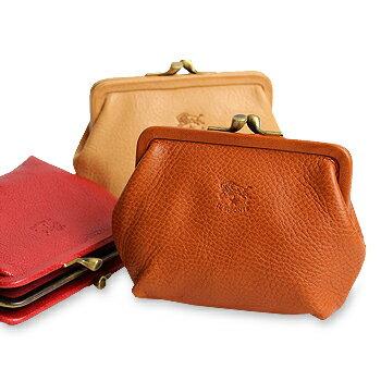 【イルビゾンテ IL BISONTE 財布】がま口コインケース(大)[商品番号_411183]【送料無料】【あす楽対応】【財布 がま口財布 コインケース】