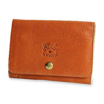 【イルビゾンテ IL BISONTE 財布】2つ折りパースレザーウォレット[商品番号_5432300140]【送料無料】【あす楽対応】【財布 二つ折り財布】