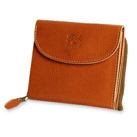 【イルビゾンテ IL BISONTE 財布】ラウンドジップスクエアウォレット [商品番号_5452300240]【送料無料】【あす楽対応】【財布 二つ折り財布】
