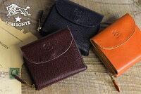 【イルビゾンテILBISONTE財布】ラウンドジップスクエアウォレット[商品番号_5452300240]【送料無料】【あす楽対応】【財布二つ折り財布】